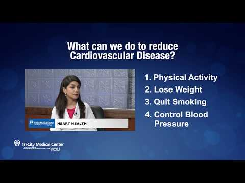 "TCMC Health Tip ""What Can We Do to Reduce Cardiovascular Disease?"""