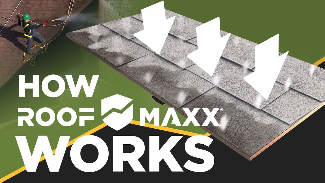 The World's First Sustainable Roofing Solution | Roof Maxx