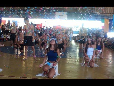 País Tuvalu: Apres. dança da Feira das Nações 2018 3º D