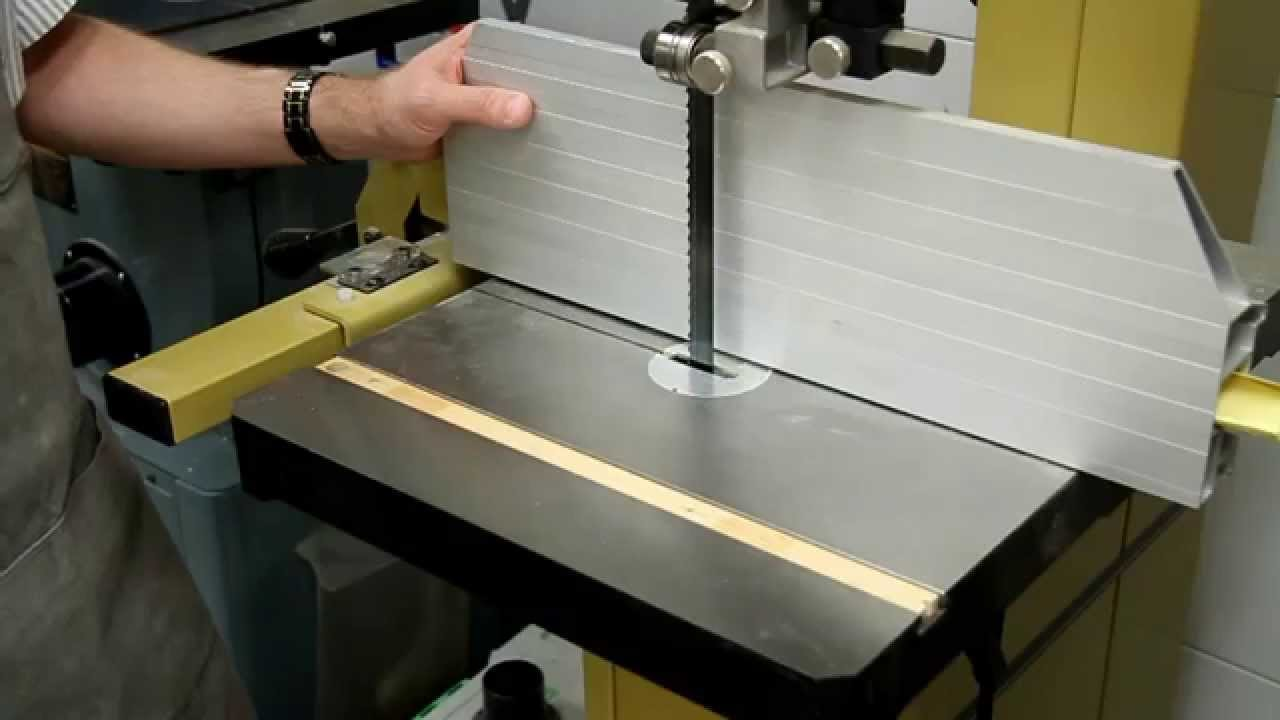 Push stick for the Bandsaw - YouTube