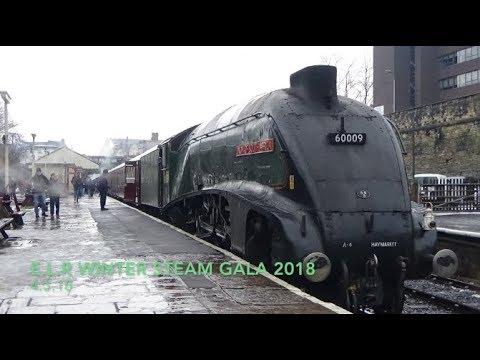 EAST LANCS RAILWAY - Spring steam gala 2018