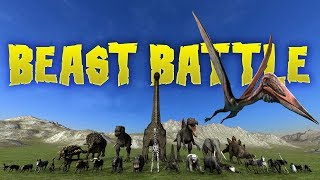 Beast Battle - ALL THE ANIMALS - The Final Challenge - Beast Battle Simulator Gameplay Highlights