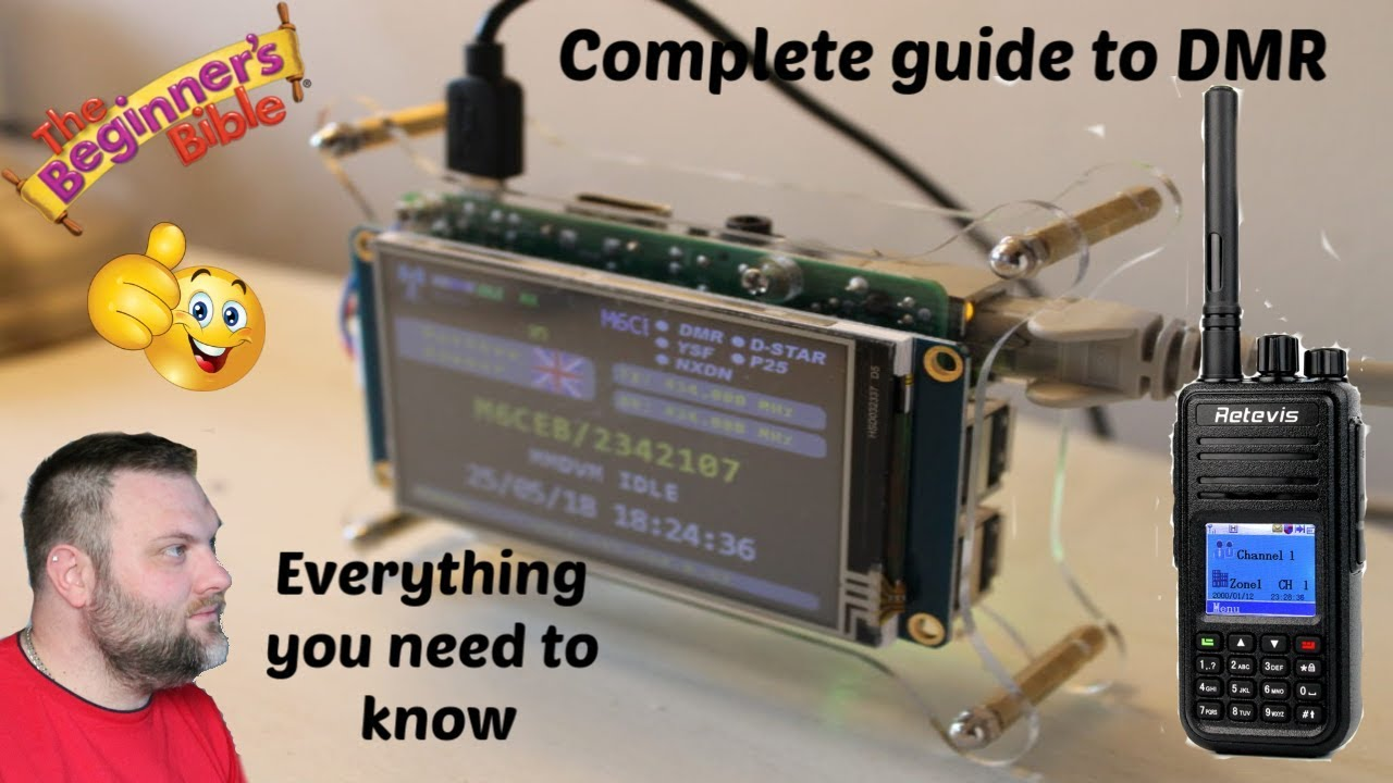 Build your own cheap MMDVM Digital Hotspot using Pi-Star step by