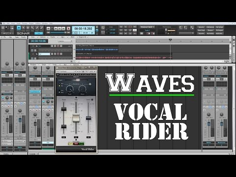 The Best Plugins For Vocals - WAVES Vocal Rider - YouTube