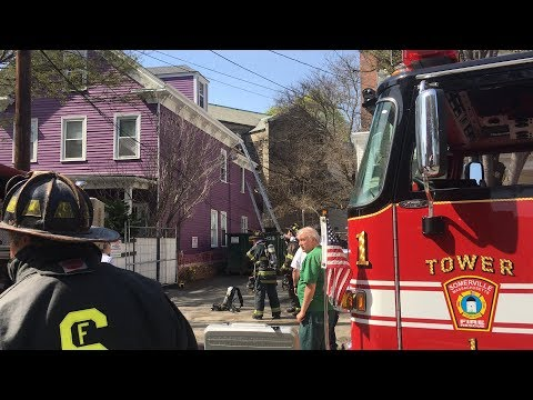 [AFTERMATH BOX 252] SOMERVILLE MA 2ND ALARM 269 WASHINGTON ST--FIRE IN THE REAR OF A HOUSE