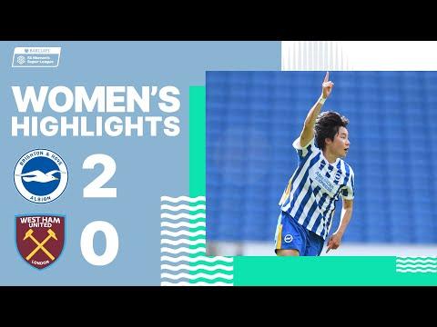 WSL Highlights: Albion 2 West Ham 0