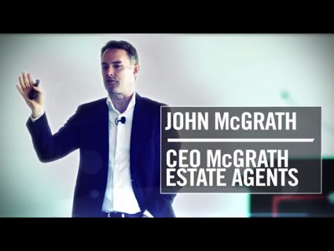 Macleay College Entrepreneurs Forum 2013 -  John McGrath CEO McGrath Estate Agents