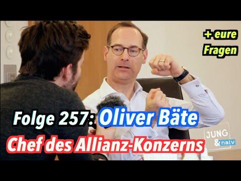 Oliver Bäte, der Vorstandsvorsitzende der Allianz (+ eure Fragen) - Jung & Naiv: Folge 257