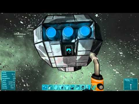 Space Engineers Survival, Episode 10, Salvage Engineering