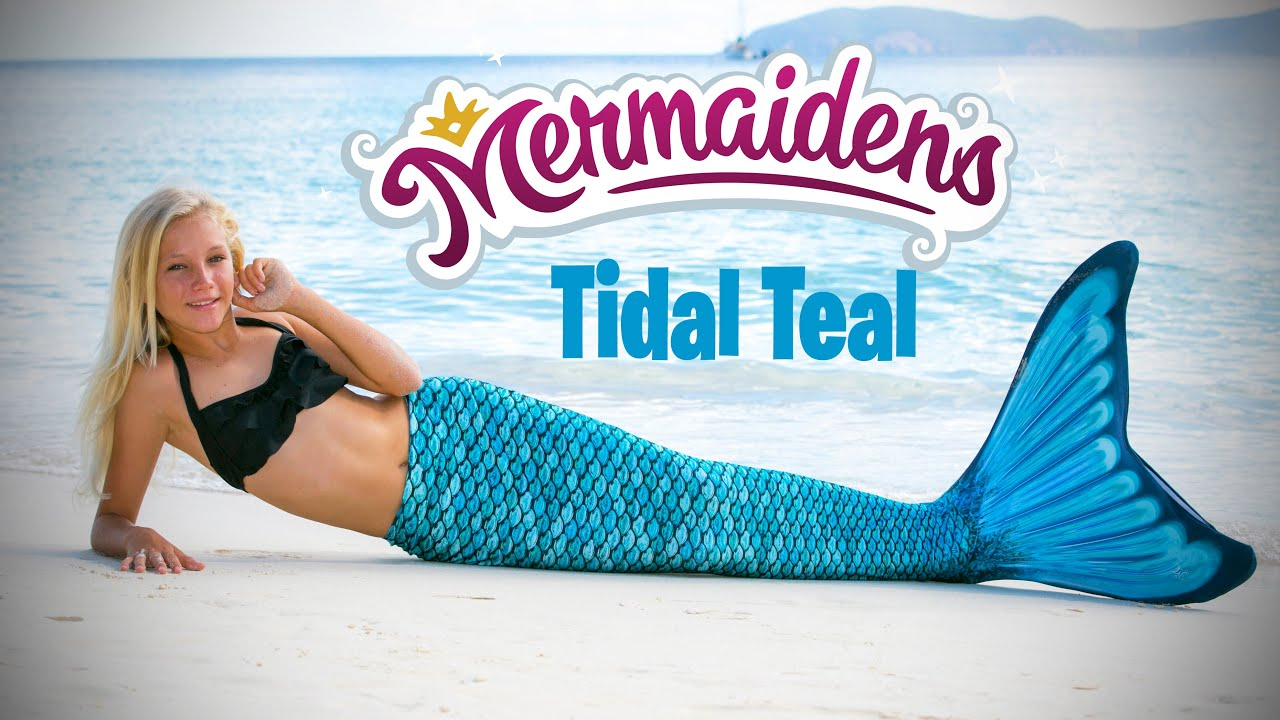 Tidal Teal Mermaiden Tail | Fin Fun Mermaid Tails