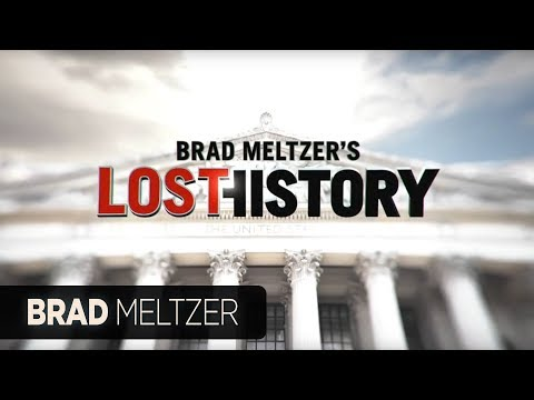 Brad Meltzer's new TV show – Lost History