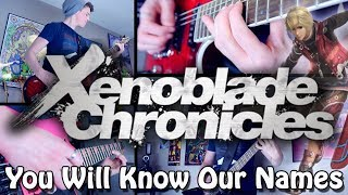 You Will Know Our Names - Xenoblade Chronicles (Rock/Metal) Guitar Cover | Gabocarina96