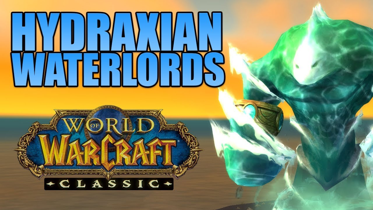 WoW Classic Hydraxian Waterlords RP Gold, Level 30-60