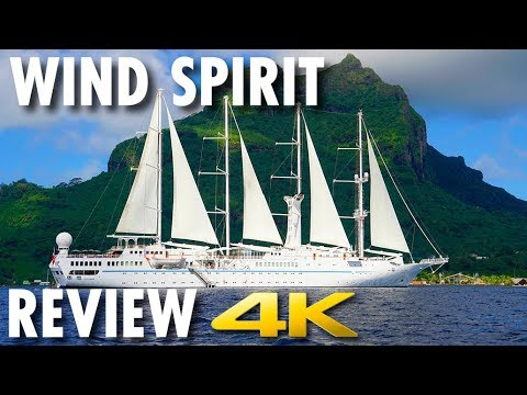 Wind Spirit Tour & Review ~ Windstar Cruises ~ Cruise Ship Tour & Review [4K Ultra HD]