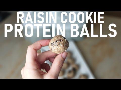 Raisin Cookie Protein Balls Recipe