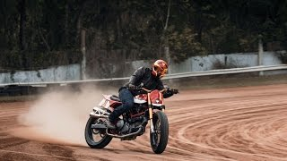 Johnny Lewis Rides Fuller Moto Ducati Street Tracker