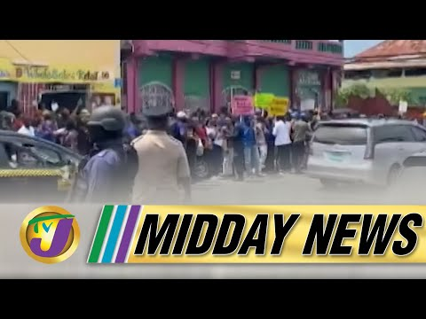 Anti Vaccine Protesters Arrested in Jamaica | $100m Payout Red Flag in AG Report | TVJ Midday News