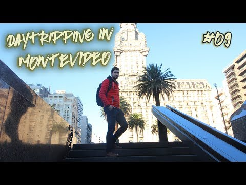 Day Tripping in Montevideo Uruguay. Vlog #09