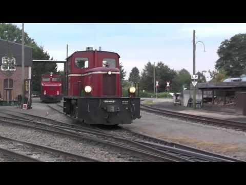 DEV Diesel weekend on heritage railway - shunting and preparations