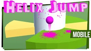Helix Jump - Grátis pra Android e IOS - Game Over