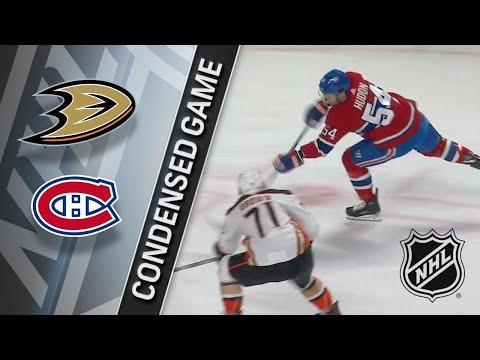 02/03/18 Condensed Game: Ducks @ Canadiens