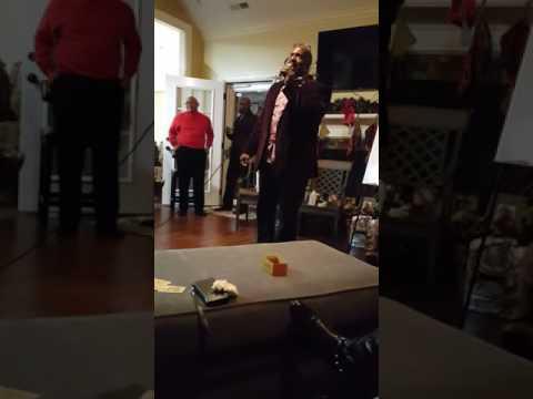 Van's 51st Birthday Party 2016 - Reggie Vass Singing