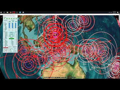 6/08/2018 -- Mayotte Volcano has not erupted in 4,500+ years = SWARMING w/ earthquakes - 동영상