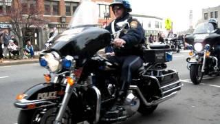 Police Motorcycle Brigade - Quincy Ma Chrismas Parade