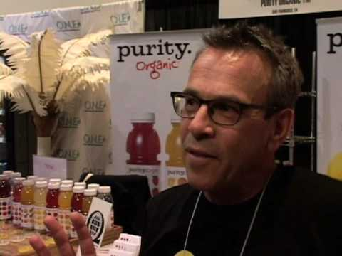 Purity Organic Juices - Fancy Food Show - SF 2009