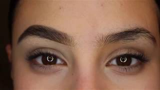 How To Groom & Fill In Over-Grown Eyebrows (Thick & Natural)