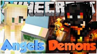 minecraft angels vs demons choose your side   mod showcase