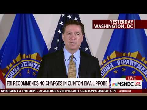 CLINTON vs COMEY ~ House of Cards version