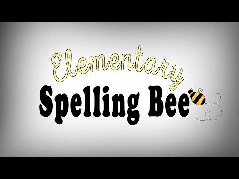 Elementary Spelling Bee 2016