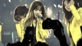 [fancam] 140802 SNSD Girls' Generation (Taeyeon) - Gee & Ending