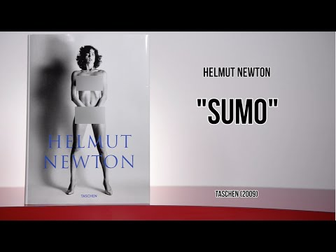 """NSFW Photo Book, Helmut Newton """"SUMO"""": From My Bookshelf"""