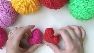 Как вязать сердце спицами? | How to knit heart?