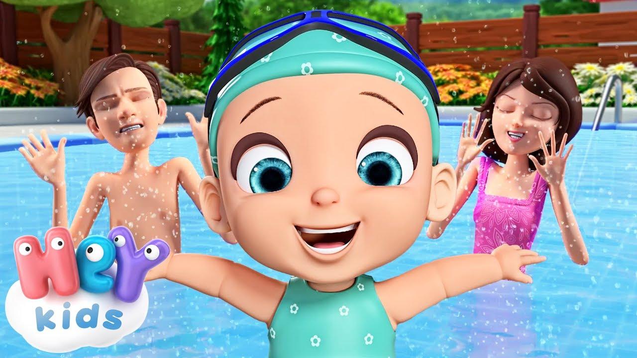 Voy a Aprender a Nadar 🏊 Canciones Infantiles - HeyKids en Español