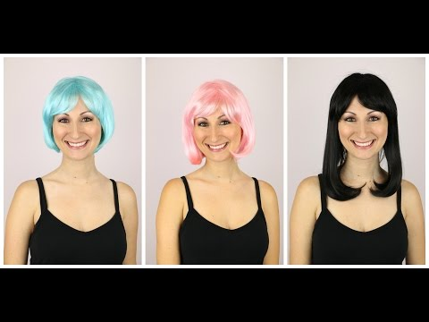 3 Great Costume Wigs- $35 Or Less!  Perfect For Halloween