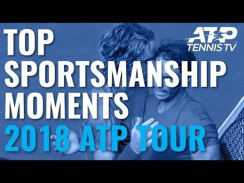 TOP SPORTSMANSHIP MOMENTS: 2018 ATP Tour