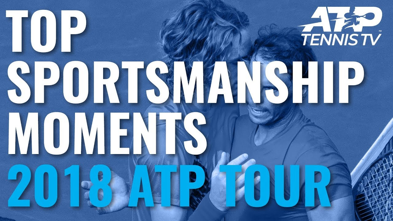 TOP SPORTSMANSHIP MOMENTS: 2018 ATP Tour