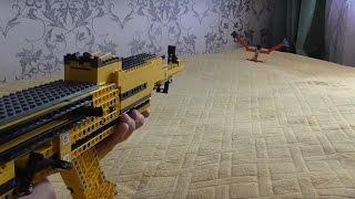 Из Лего Автомат Калашникова Ак 74 Lego rifle