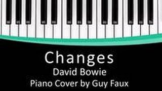Changes - David Bowie - Piano Cover - (Instrumental)