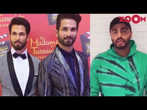 Shahid unveils his wax statue at Madame Tussauds | Arjun Kapoor's social media campaign for 'IMW'