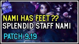New Splendid Staff Nami Skin (SHE HAS FEET?)