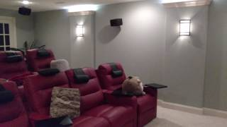 Home theater accent lighting with Particle Photon