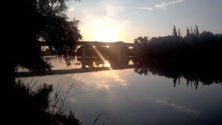 осенняя рыбалка на реке Кубань чуть не украли улов
