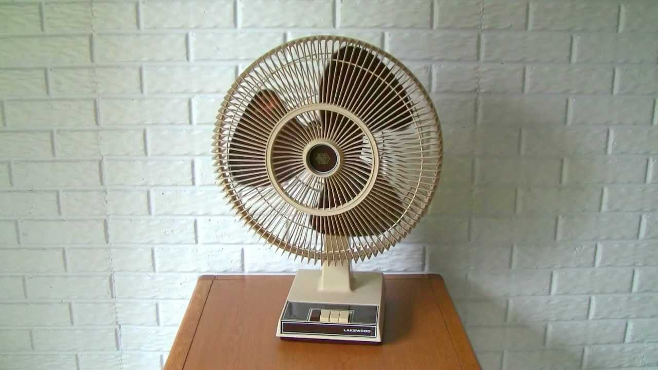 Lakewood Model 1600a Oscillating Fan