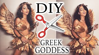 My DIY Greek Goddess Costume!