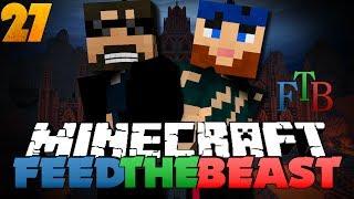 Minecraft Modded Survival - FTB 27 - LASER DRILL OP