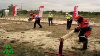 Zawody Drwali Okrzesywanie Super Czas, Zero błędów! - ROGÓW  Lumberjack competitions